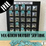Vocation Number Sorting Task
