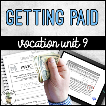 Vocation Unit 9 - Getting Paid