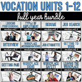 Vocation Units 1-12 Full Year Bundle