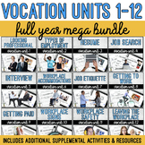 Vocation Units 1-12 Full Year MEGA Bundle + Supplemental Materials