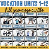 Vocation Units 1-12 Full Year MEGA Bundle + Supplemental Materials