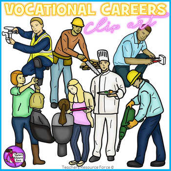 Vocational Careers clip art by Teachers Resource Force | TpT