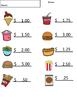 Vocational Food Worksheets