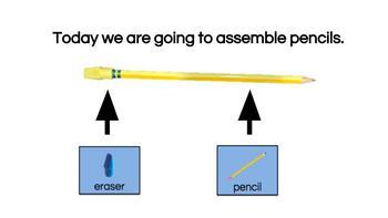 Vocational Lesson & Bargain Bin: Pencil Assembly