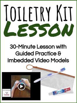 Vocational Lesson & Bargain Bin: Toiletry Kits