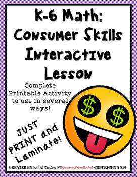 Vocational Education (Consumer Skills) Activity