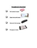 Vocational Office Jobs Checklist