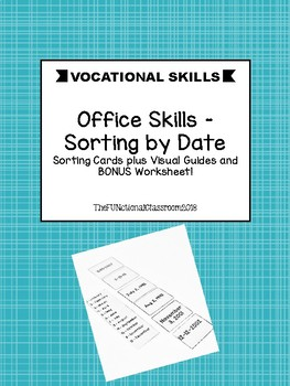 Vocational Office Skills - Date Sort