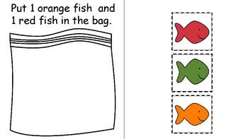 Vocational Packaging Goldfish Worksheets