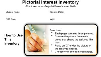Vocational Picture Inventory for Non-Readers