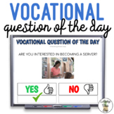 Vocational Question Of The Day w Visuals