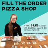 Vocational Skills: Pizza Shop Fill My Order