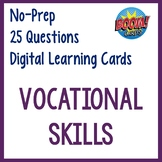 Vocational Skills Digital Interactive Cards- Distance Lear