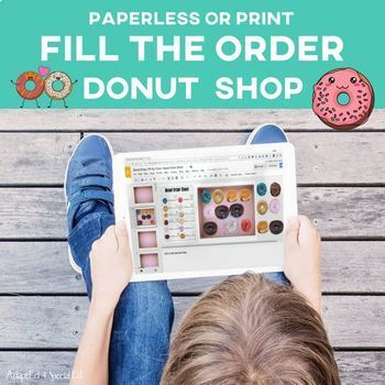 Vocational Skills: Donut Shop Fill My Order