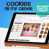 Vocational Skills: Fill The Order Cookie Edition