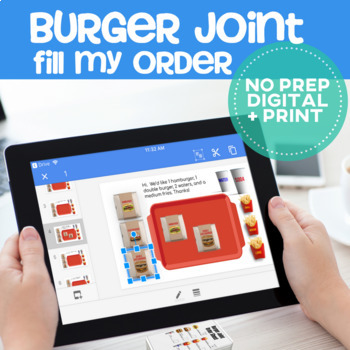 Vocational Skills: Burger Joint Fill My Order