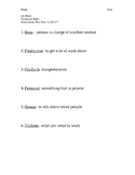 Vocational Skills Study Guide 3