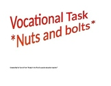 Vocational Task- Nuts and bolts