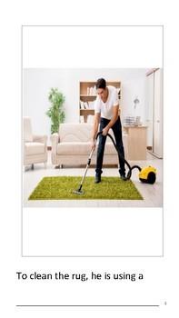 Vocational Unit Freebie: Housekeeping