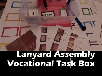 Vocational Work Box: Lanyard Assembly