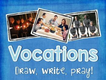 Vocations: Draw, Write, Pray!