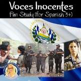 Voces Inocentes / Innocent Voices Film Study Packet (upper levels)
