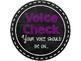 Voice Check / Voice Level Posters Chalk Theme EDITABLE