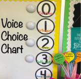 Voice Choice Chart