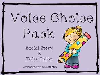 Voice Choice Pack