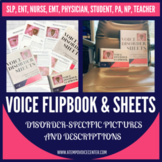Voice Disorder Sheets & Flipbook
