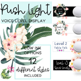 Voice Level Display for Push Light- Tropical Theme