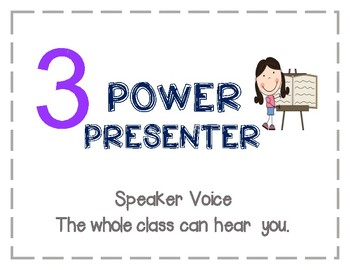 Voice Level 1-4 Poster
