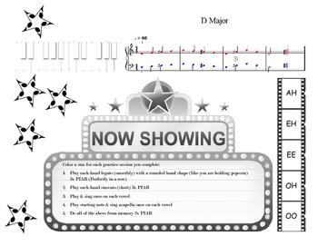 Voice Level 1 MOVIE Scales & Intervals