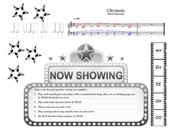 Voice Level 3 MOVIE Scales & Intervals