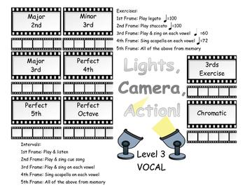 Voice Level 3 MOVIE Scales & Intervals