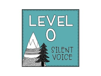 Voice Level Cards: Mountain-Themed