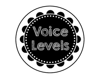 Voice Level Cards for the Clssroom