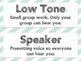 Voice Level Chart - FREEBIE!