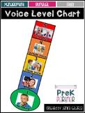 Voice Level Chart Bilingual {{FREEBIE}}