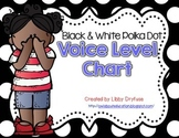 Voice Level Chart {Black & White Polka Dot}