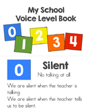 Voice Level Chart Book - Freebie!