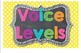 Voice Level Chart {Bright Polka Dot and Chalkboard Theme}