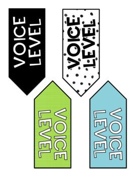 Voice Level Chart - Cactus - Succulent Decor