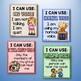 Voice Level Chart Cards Set {Crayon Theme}