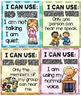 Voice Level Chart Cards Set {Polka Dots}