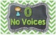 Voice Level Chart ~ Chalkboard and Chevron Theme!