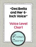 Voice Level Chart (Decibella and Her 6-Inch Voice)