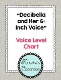 Voice Level Chart (Decibella and Her 6-Inch Voice)