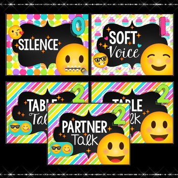 Voice Level  Chart Emoji Theme