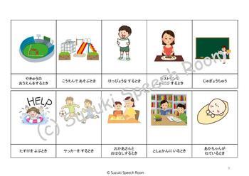 Voice Level Chart (Japanese)